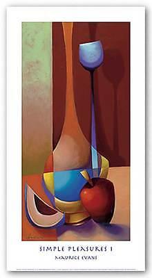 AFRICAN AMERICAN ART PRINT Simple Pleasures I Maurice Evans