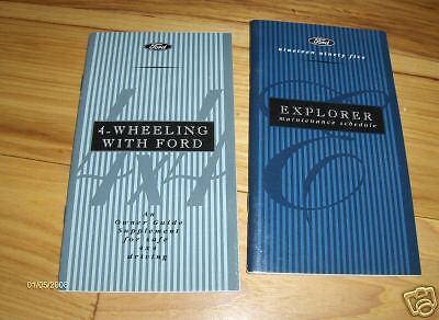 1995 ford explorer owners manual ebay rh ebay com 1995 ford explorer eddie bauer edition owners manual 1995 ford explorer owners manual online