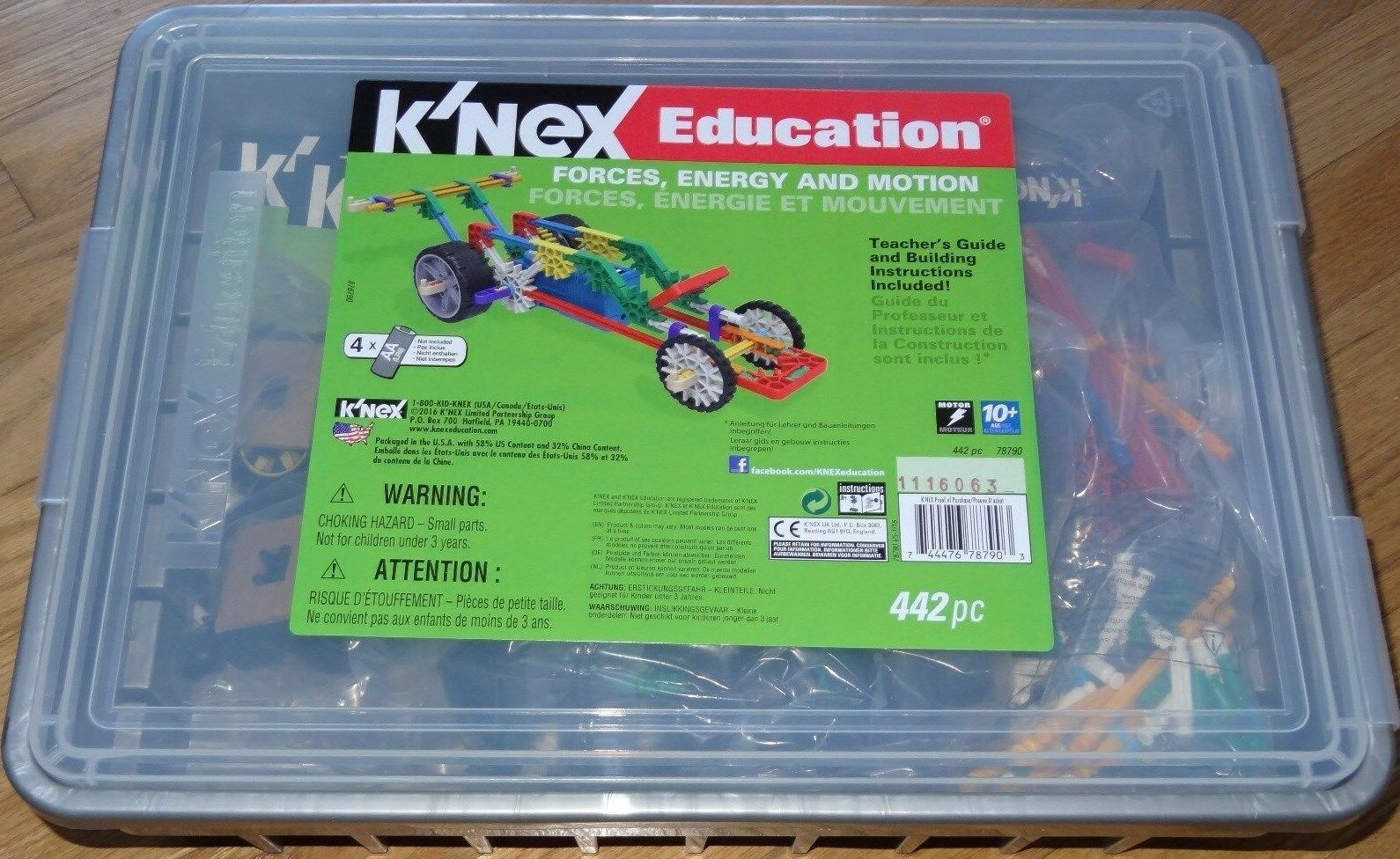 Forces Energy and Motion K'NEX Education Building Construction Set KNEX