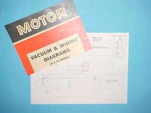 1972 1973 Ford Pinto Runabout Squire Vagon Vacio Diagramas De Cableado Ebay