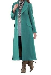 Women's Winter Outerwear 100% Wool full length coat long jacket ...