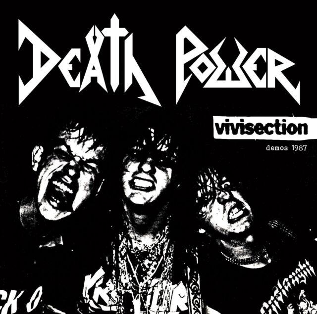 "Death Power ""Vivisection – demos 1987"" CD"