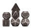 7Pcs-Set-Metal-Polyhedral-Dice-DND-RPG-MTG-Role-Playing-and-Tabletop-Games thumbnail 7