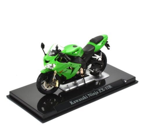 Kawazaki Ninja ZX-10R 1//24 Atlas Superbikes MOTO DIECAST MOTORCYCLE 104