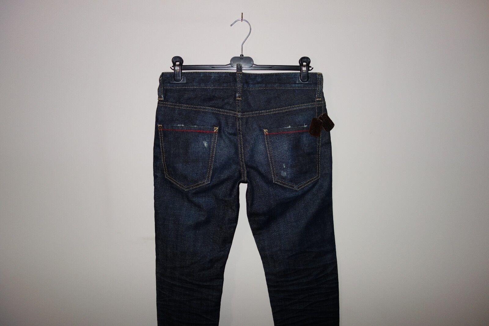 Dsquared² Runway AMERICAN GIGOLO Jeans 44 IT SS 11 S74LA0335 Made in , RARE