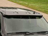 Unpainted Truck Cab Sun-visor For 2007-2013 Gmc Yukon / Yukon Xl / Sierra