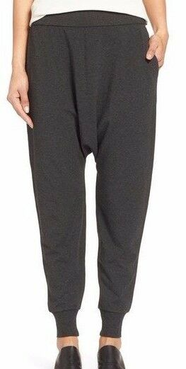 NWT Eileen Fisher Slouchy Ankle Pants in Charcoal Size XL