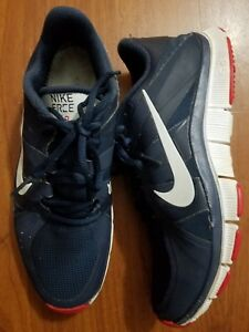 Details about NIKE FREE TRAINER 5.0 CROSS TRAINING SHOES OBSIDIAN WHITE RED 511018 416 SZ 7.5