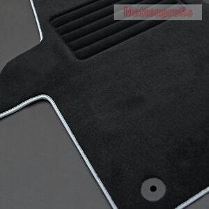mattenprofis premium velour fu matten f r vw t6 caravelle. Black Bedroom Furniture Sets. Home Design Ideas