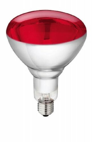 Hartglas Infrarotlampe Philips Kerbl 22313 Infrarot Lampe rot 150 W