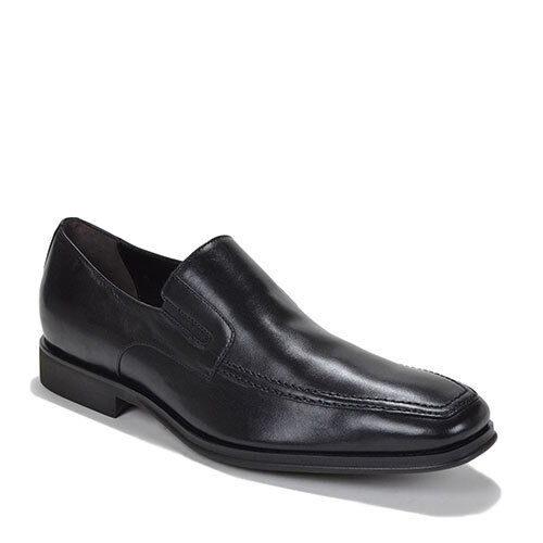 Bruno Magli Raging nero Napa Leather Slip On Italian Dress scarpe