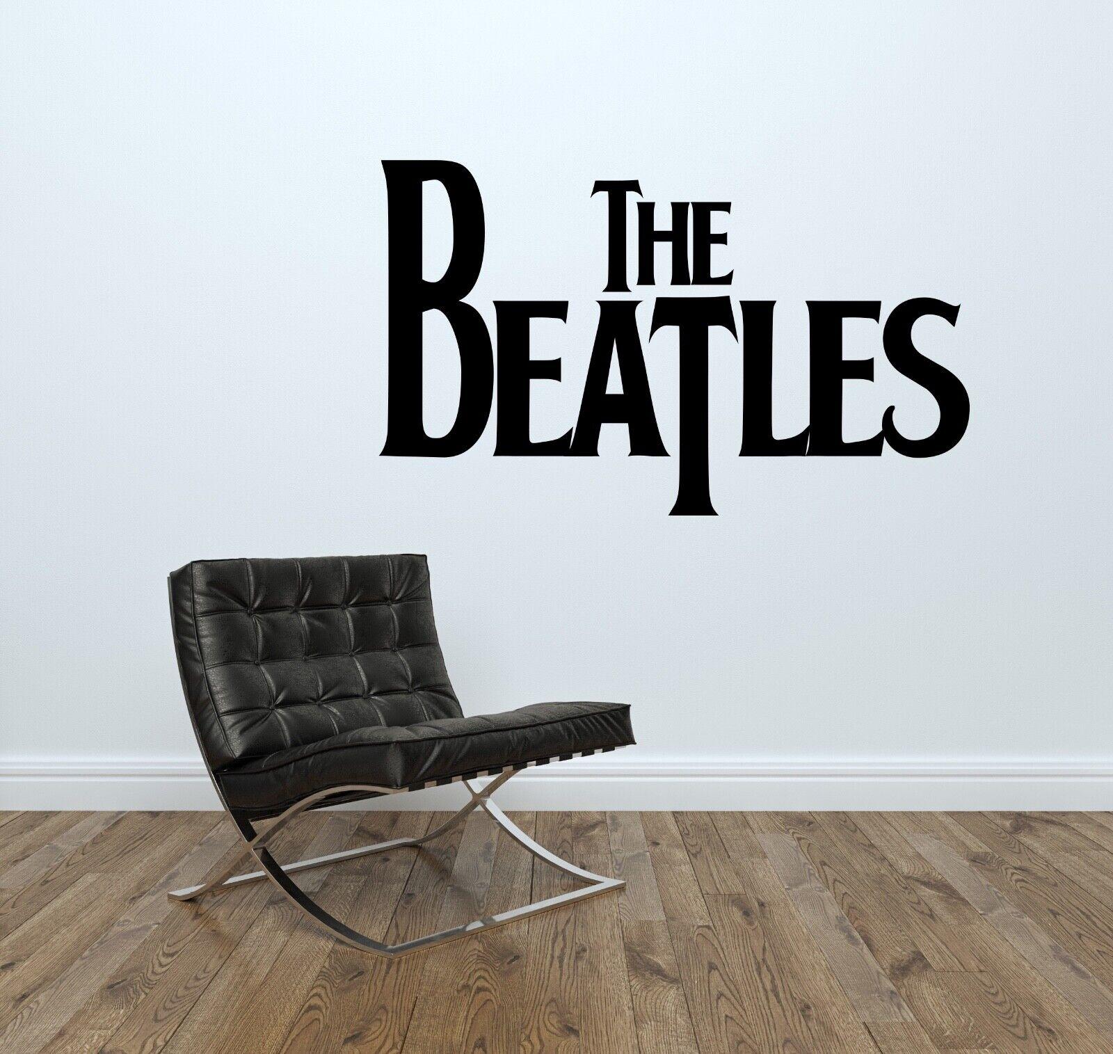 The Beatles WALL STICKER Decal Home Decor Art Mural Stencil Silhouette ST131