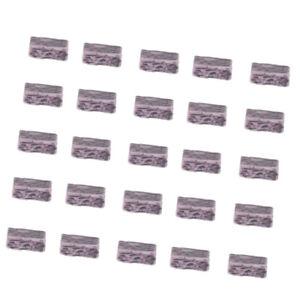 20x Mini Fairy Garden Micro Paysage Dollhouse Bonsai À Faire Soi-même Decor Briques-afficher Le Titre D'origine