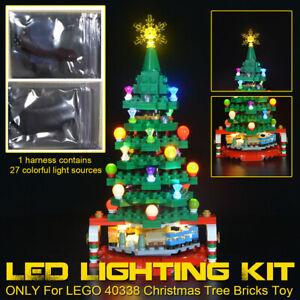 LED Licht Beleuchtung Kit Für LEGO 40338 Weihnachtsbaum Lighting mit Battery Box