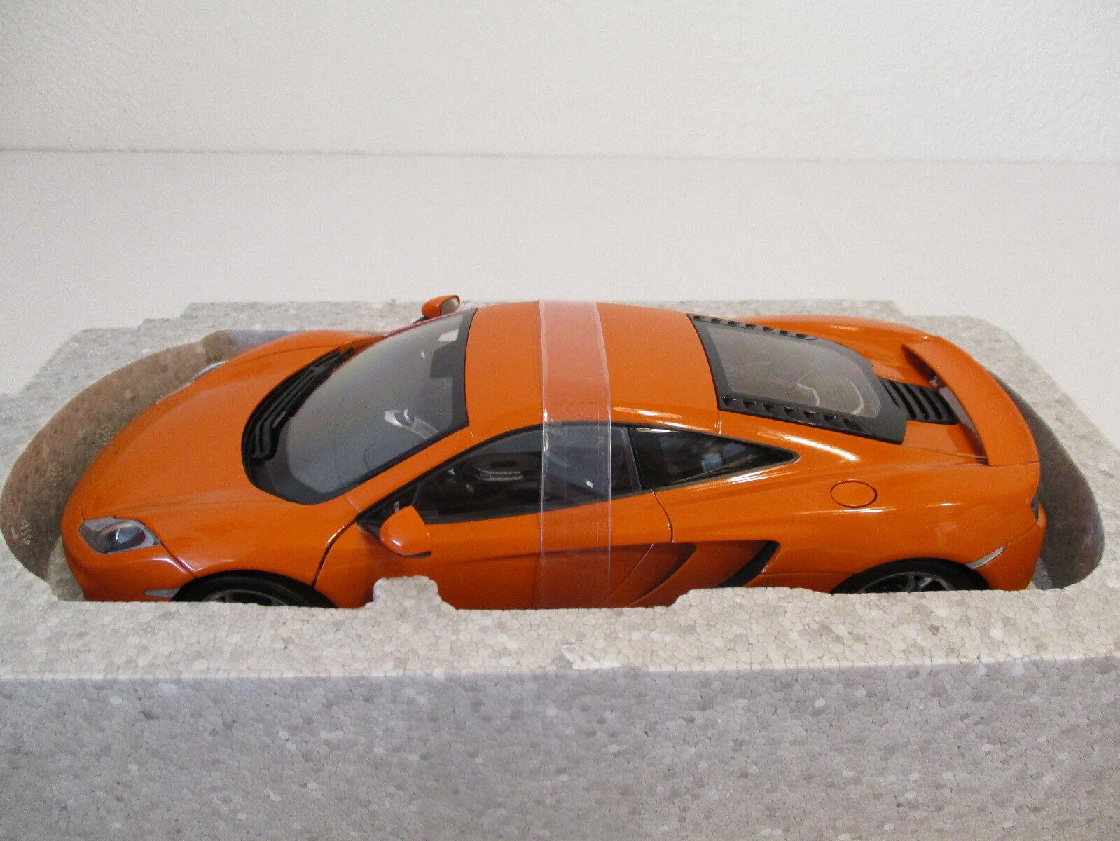 (Gok) (Gok) (Gok) 1 18 Autoart mclaren 12 C Orange   614 nuevo embalaje original 85dffe