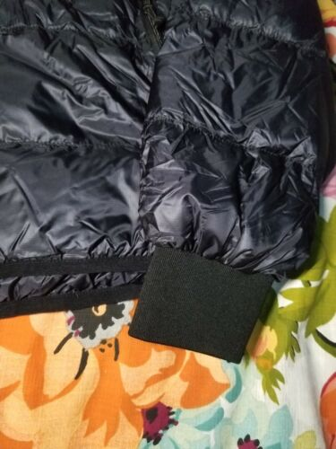 NWT Oiselle Puffy Track Jacket Primaloft Puffer Black Size Small MSRP $208