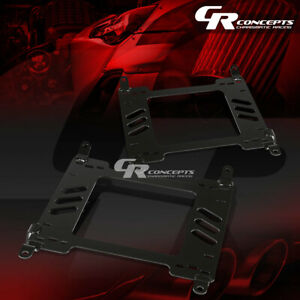 X2 PAIR OF RACING BUCKET SEAT MOUNT BRACKET FOR NISSAN 350Z Z33 VQ35 FAIRLADY