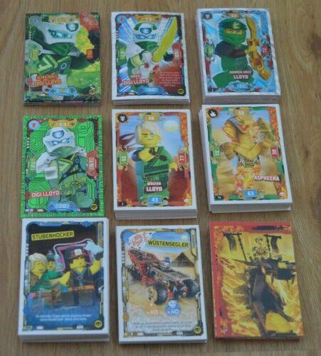Lego® Ninjago Serie 5 Trading Card Game alle 252 Karten komplett Set