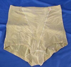 PLAYTEX Thin Crepe Knit BEIGE NUDE BODY MAGIC Panties Shapers MODEL 0857, sz L