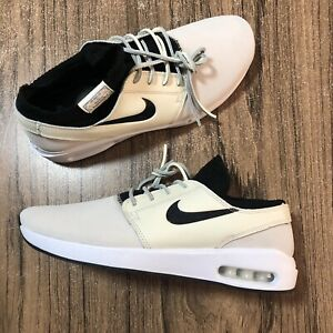 A1181 Nike SB Stefan Janoski Max 2 PRM Pale Ivory BQ3377-100 Mens ...