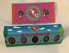 WHITE HOUSE 2014 EASTER Egg TICKET & 5 EGGS in BOX OBAMA & 1st DOG BO Signature
