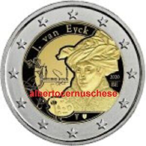 2-euro-2020-BELGIO-Jan-van-Eyck-Belgium-Belgique-Belgie-Belgica-Belgien