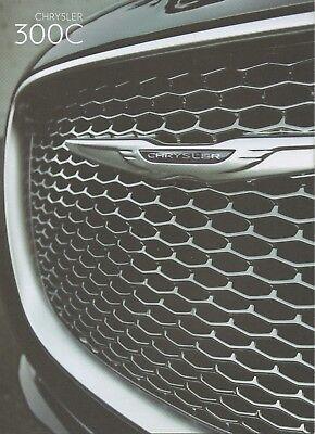 Chrysler 300c Car For China Market _2015 Prospekt / Brochure Uitstekende (In) Kwaliteit