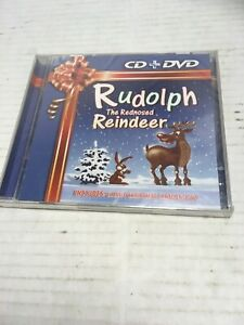 Rudolph-Yhe-Red-Nosed-Reindeer-Cd-Dvd-Brand-New