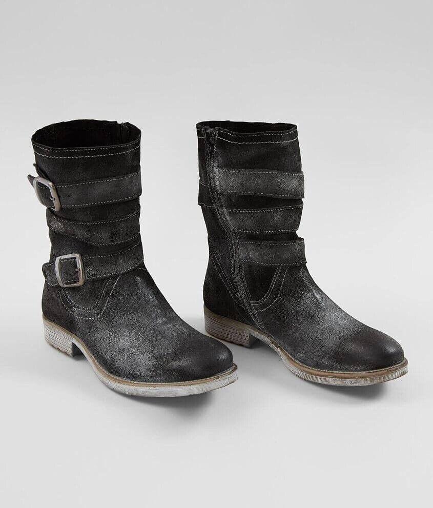Neuer Frauen Roan Lola Schwarz Echtleder Stiefel Größe 8 Msrp NWOB   | Passend In Der Farbe