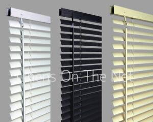 Pvc-Venetian-Blinds-Window-Blind-In-Black-Cream-White