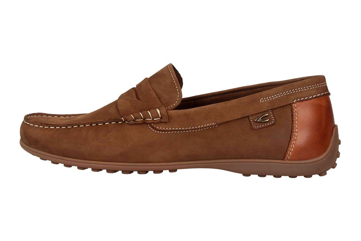 Camel active Pantoufles Dans Grandes Tailles Marron 521.12.09 grandes Chaussures Hommes