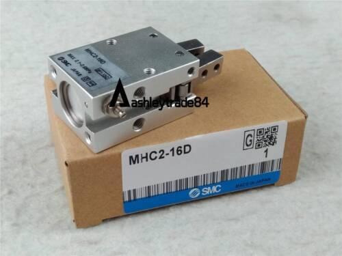 NEW SMC MHC2-16D Pneumatic Angular Air Gripper Cylinder Pressure Range 0.1-0.6