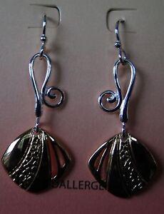 Jody Coyote Earrings JC0237 new hypoallergenic silver pink