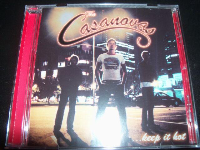 The Casanovas Keep It Hot Rare Australian 5 Track CD EP