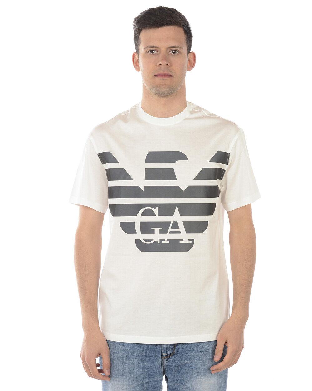 Emporio Armani T hemd schweißhemd Man Weiß 3G1TR1 1JTUZ 100 Sz L MAKE OFFER