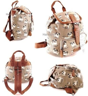 897d71804 MINI TRAVEL RUCKSACK LADIES GIRLS SMALL CANVAS SHOULDER BAG BACKPACK  LIGHTWEIGHT | eBay