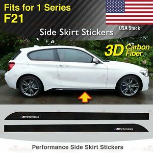 2x car silhouette stickers aufkleber for BMW 1er F21 2011-2014 120d M135i tuning