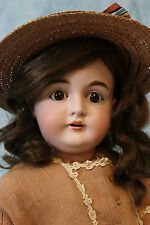 "Charming Antique 27"" German Bisque 164 Kestner Child Doll c.1898 made in Germany"