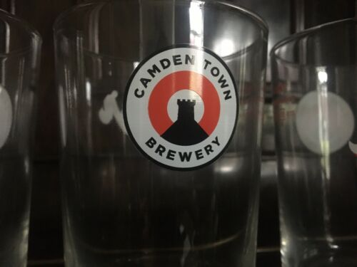 Camden Town Brewery 2 X Jack Pint Glasses