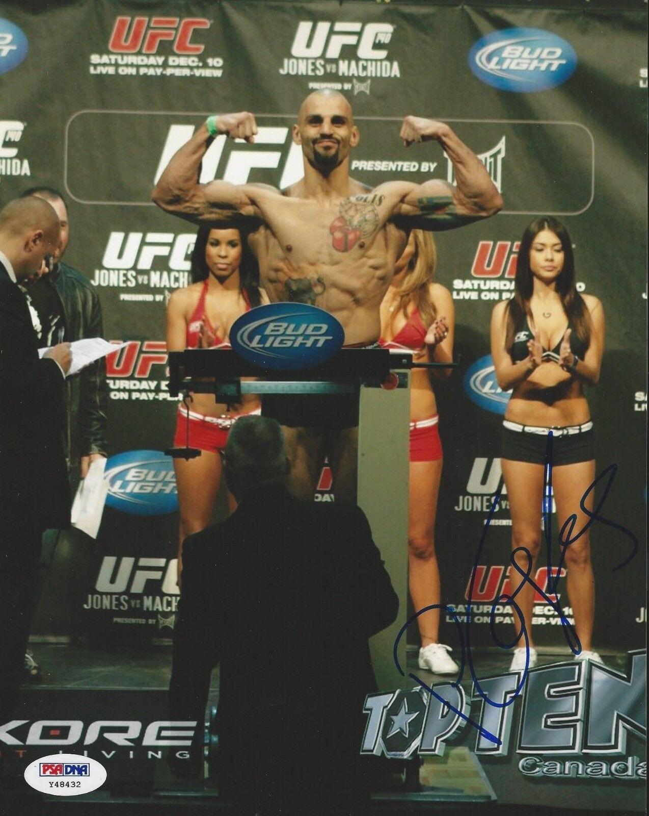 Costas Philippou UFC Fighter signed 8x10 photo PSA/DNA # Y48432