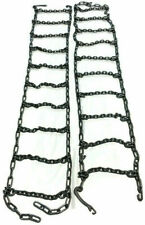 Skid Steer Uni Loader Snow Tire Chains Squared Link Alloy Hardened 10 165