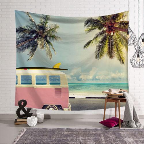 Tapestry Tarpaulin Art Wall Tapestry Home Decor Mural Beach Towel Sea
