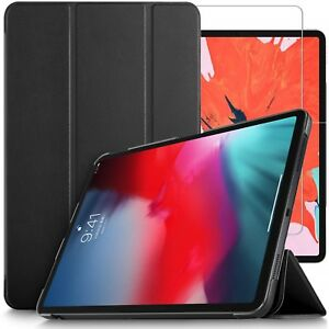For-Apple-iPad-Pro-11-2018-Case-Stand-Cover-amp-Glass-Screen-Protector