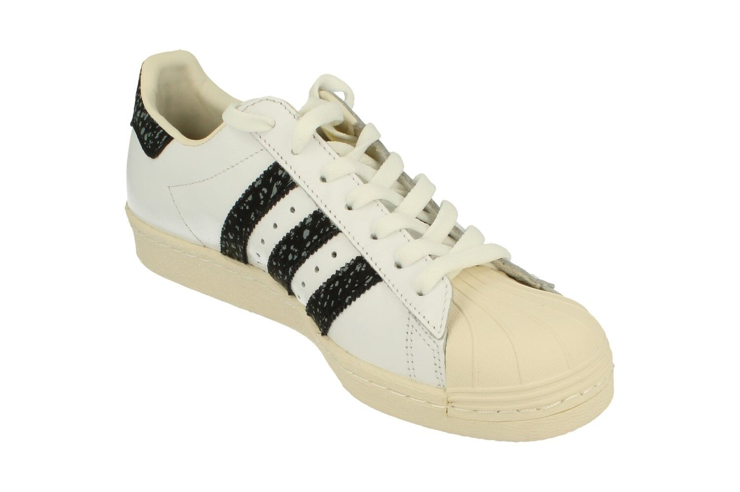 Adidas Originals Superstar 80S Mens Trainers Trainers Trainers Sneakers S75847 6cf93b
