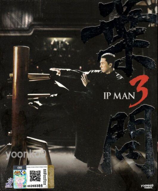 Ip Man 3 Donnie Yen Hong Kong Movie Dvd English Subtitle All Region