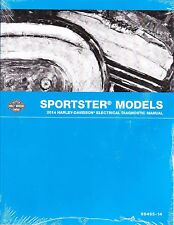 2014 Harley Sportster 883 SuperLow Iron 1200 Custom Electrical Diagnostic Manual