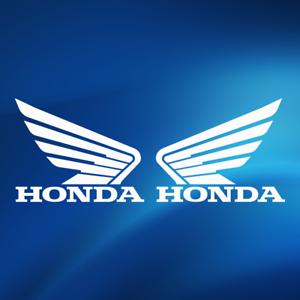 HONDA Wing Logo Sticker Decal Auto Car Motorcycle Vinyl Sticker Banner Decals