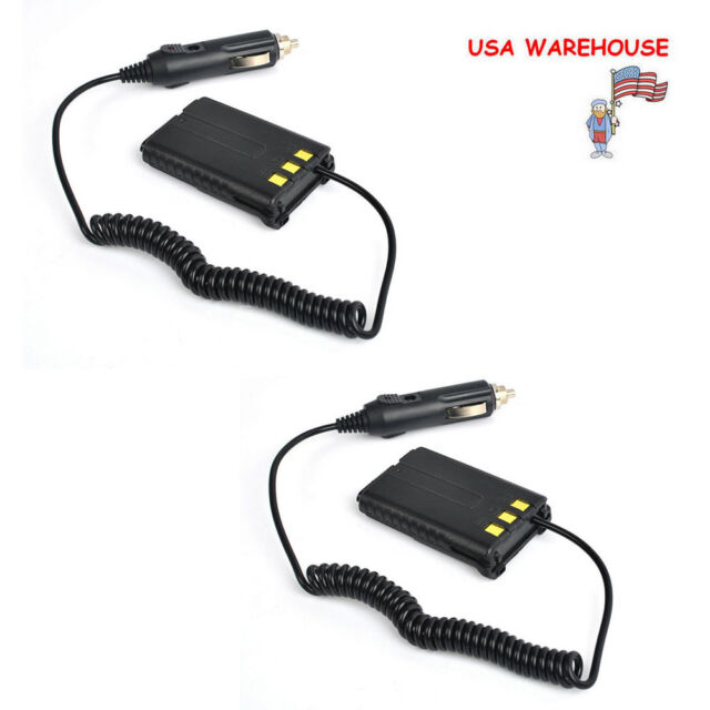 Desktop charger base for Baofeng UV-5R A//E//Plus Two-way Radio Car Charger Cable