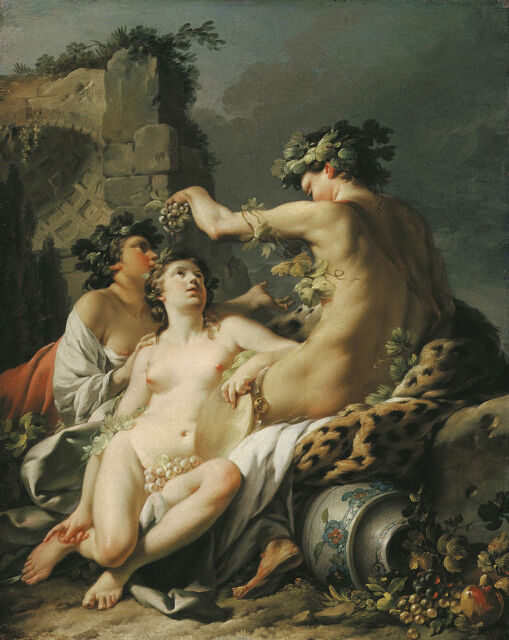 Jean-Baptiste Marie Pierre Autumn Giclee Canvas Print