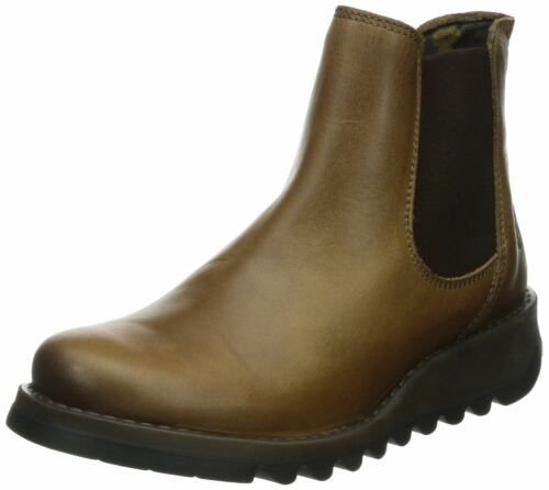 competitive price b3461 b2a81 Femmes Fly Salv Ankle Cuir Bottes Camel London ISq7BxwaS